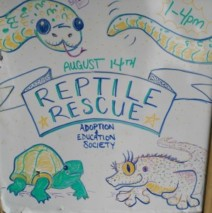 Reptile Rescue, Adoption and Education Society – Aug 14